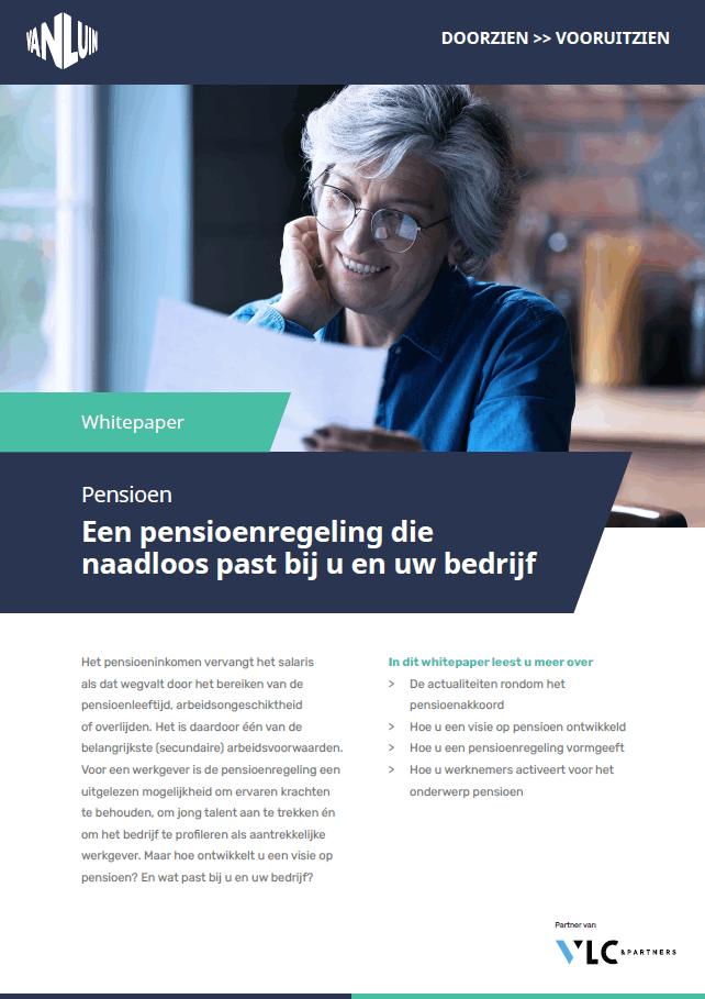 Een pensioenregeling die past bij uw bedrijf